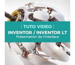 Présentation de l'interface - Inventor