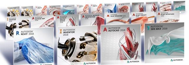 jaquettes produits autodesk