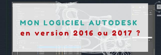 version 2016 2017 autodesk
