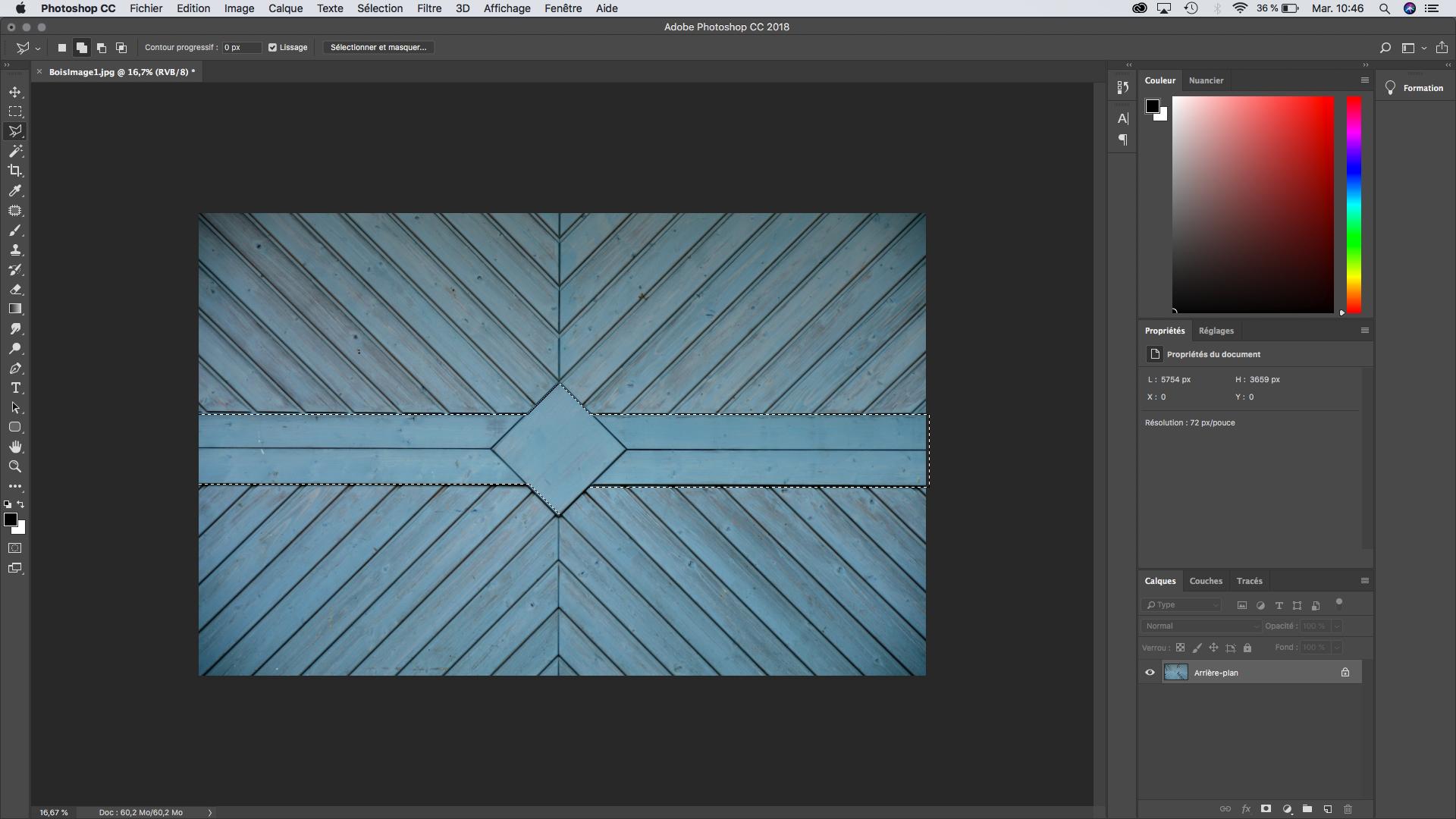 lasso polygonal