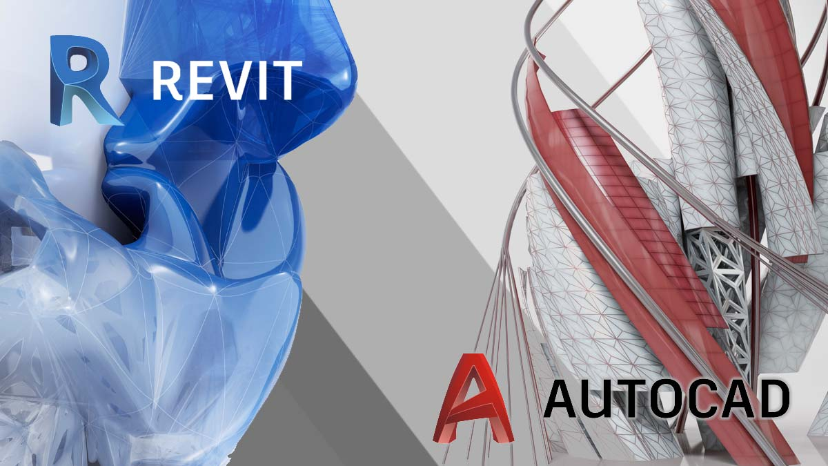 revit autocad differences